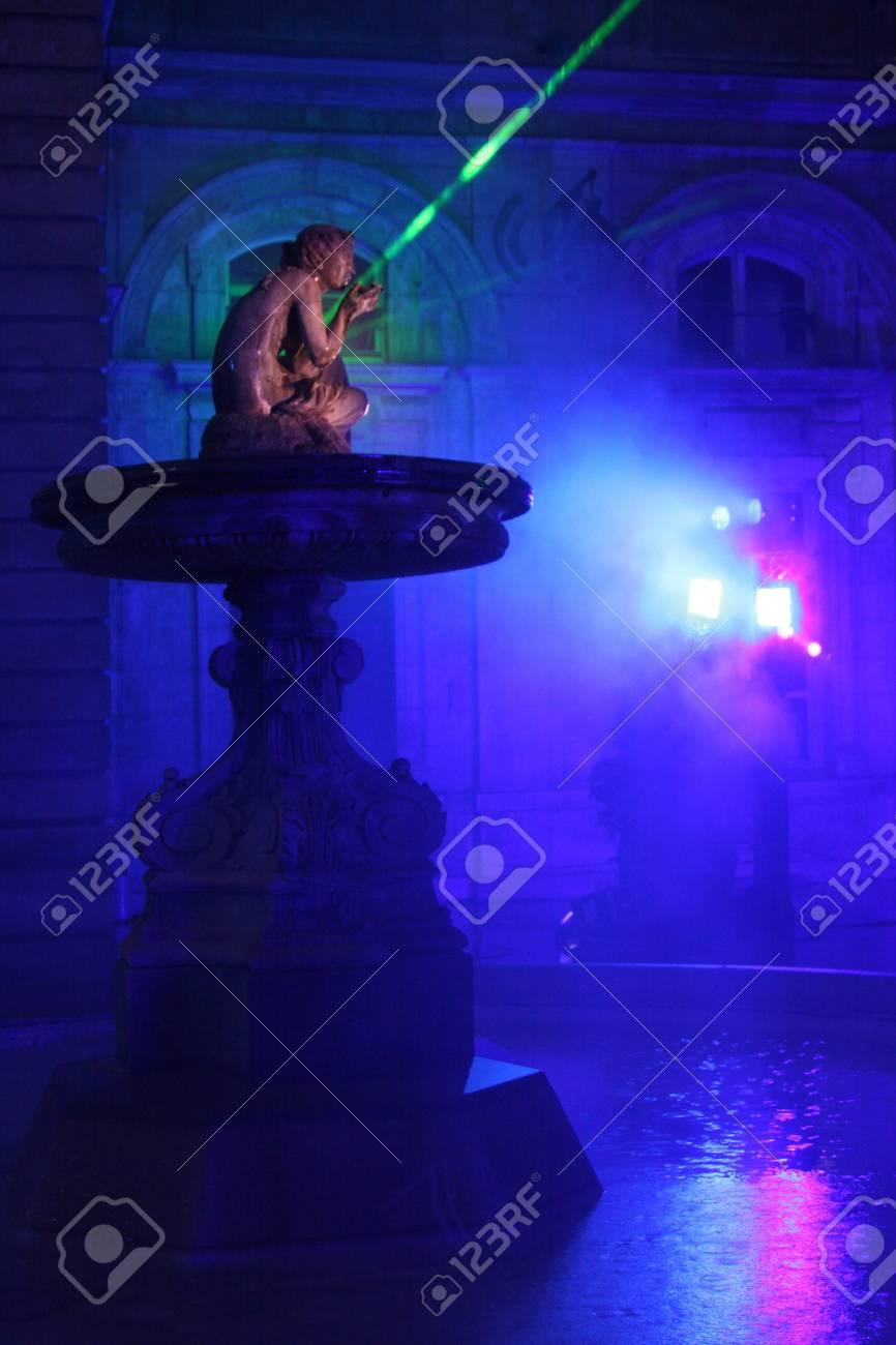 Festival of Lights of Lyon Stock Photo - 7996924
