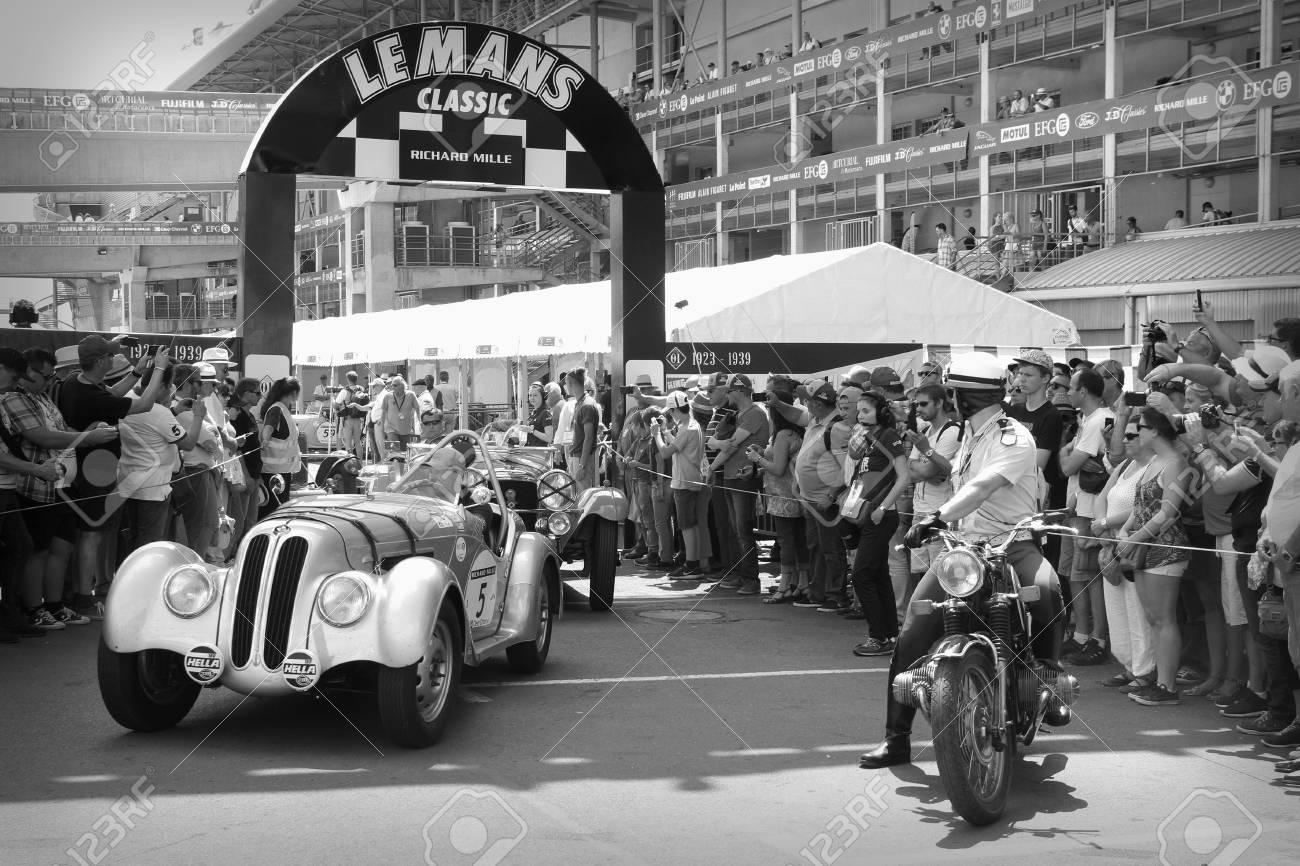 LE MANS, FRANCE, July 9, 2016 : Old Racing Car At Indianapolis ...