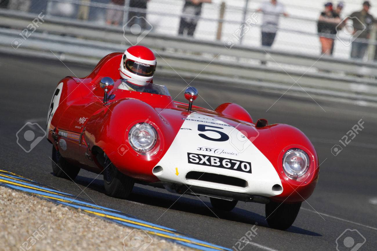 LE MANS, FRANCE, July 9, 2016 : Old Racing Car At Indianapolis ...
