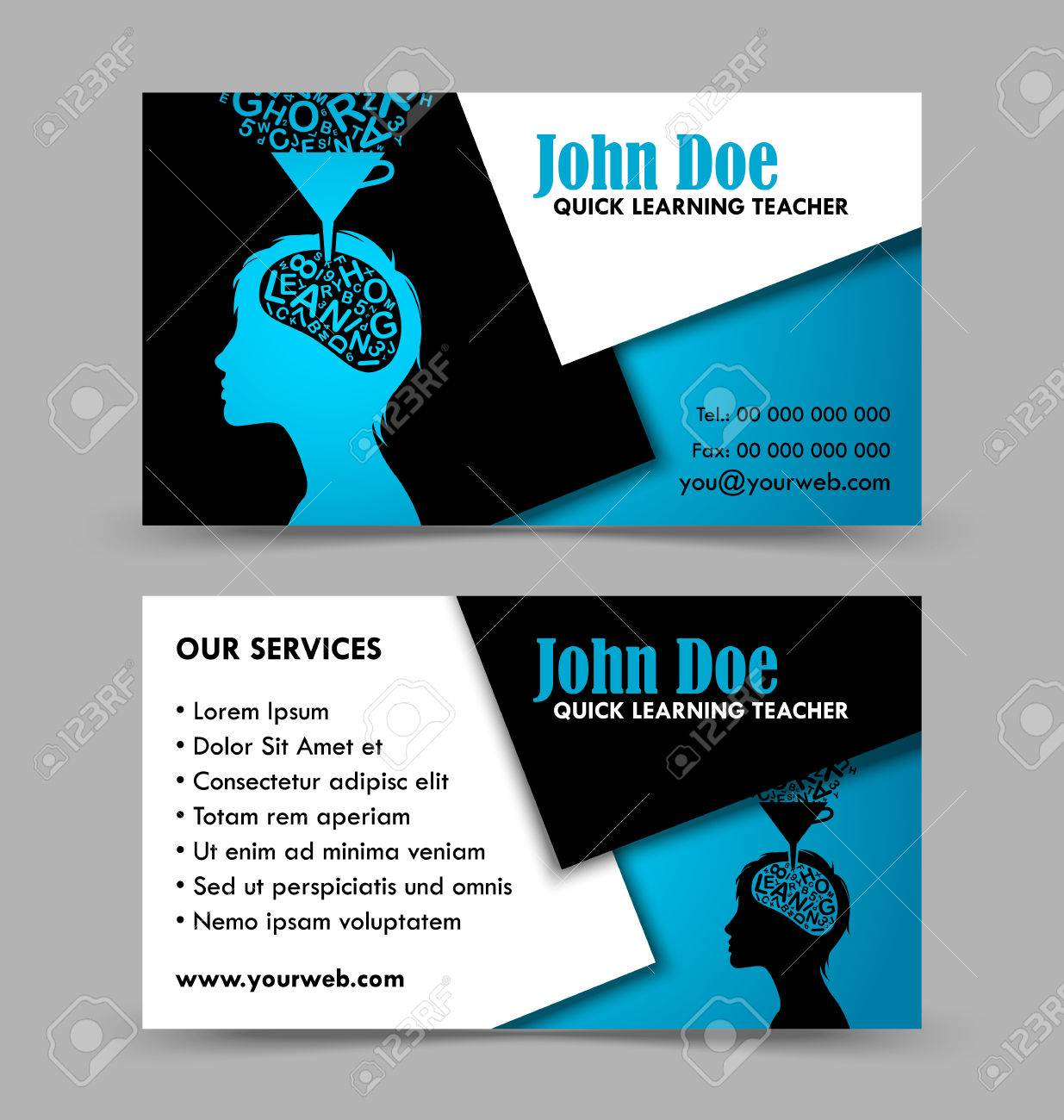 Luxury business cards front and back ideas business card ideas contemporary business card back ensign business card ideas colourmoves