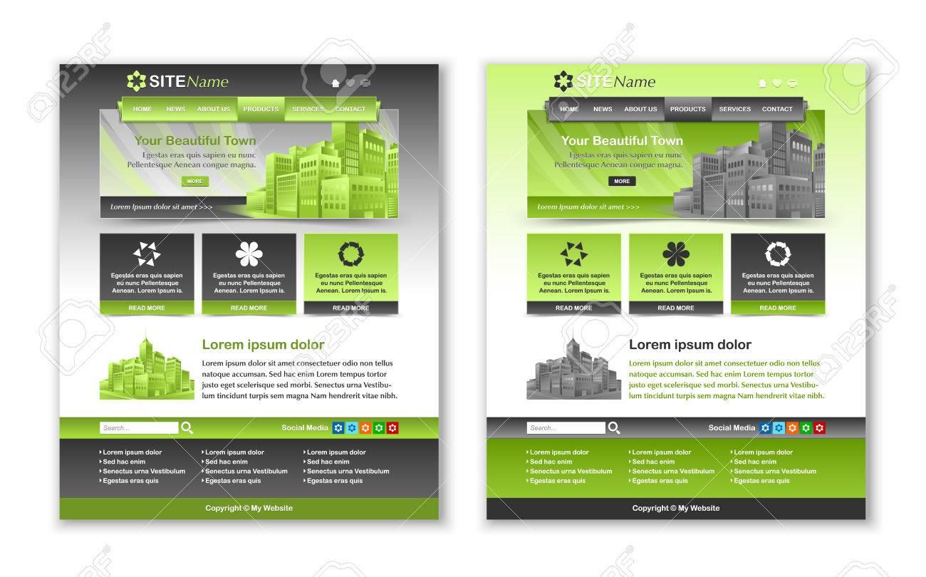 Fácil Personalizables Gris Diseños De Plantillas De Sitios Web Y ...