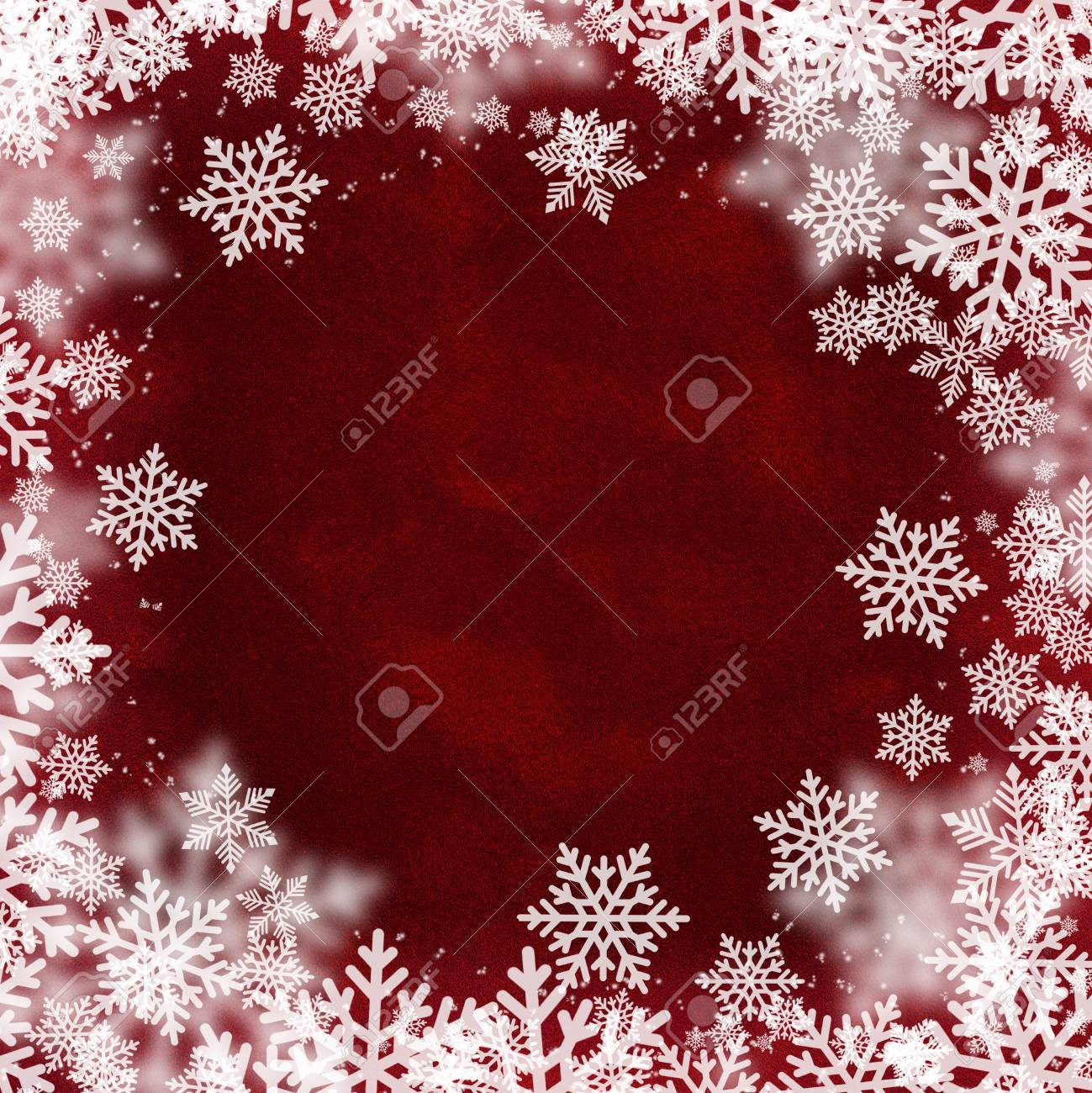 Snowflakes Pattern On Red Velvet Fabric Textured Winter Holidays Stock Photo Picture And Royalty Free Image Image 66394680