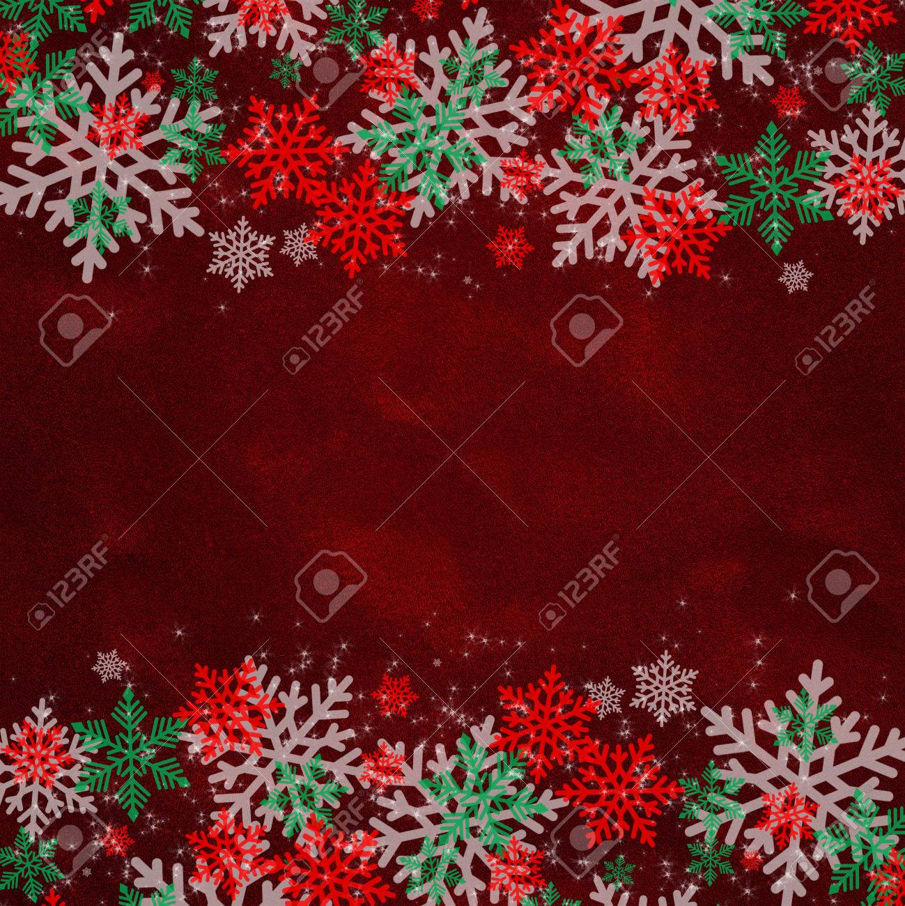 Snowflakes Pattern On Red Velvet Fabric Textured Winter Holidays Stock Photo Picture And Royalty Free Image Image 66394683