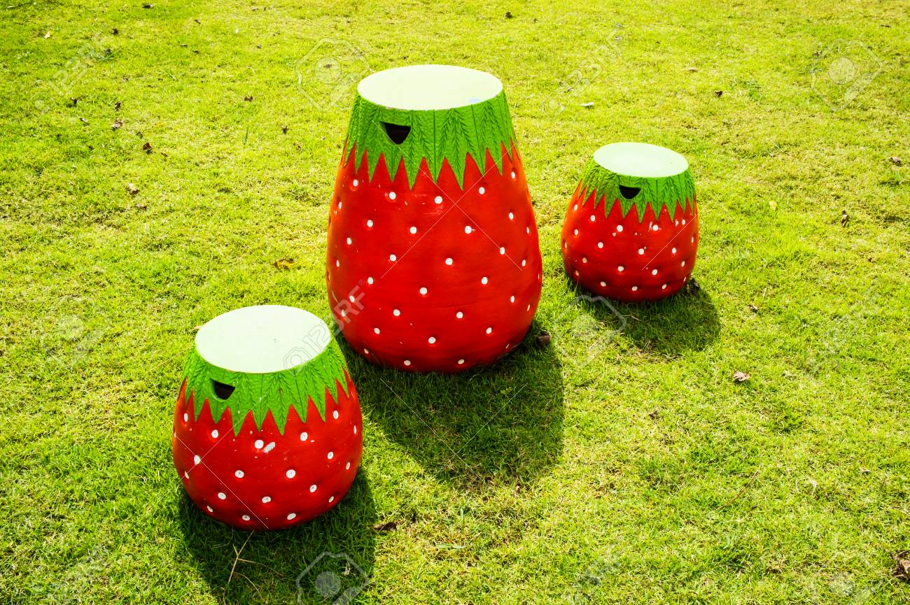 Stock Photo - Strawberry chair & Strawberry Chair Stock Photo Picture And Royalty Free Image. Image ...