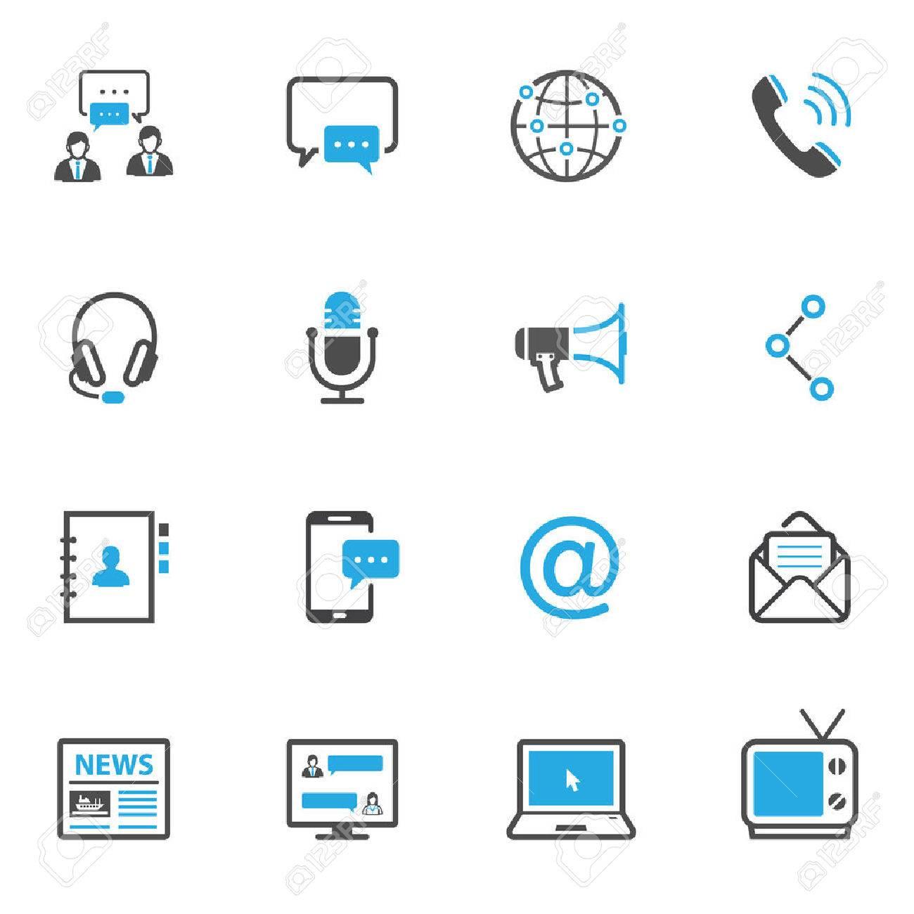 Communication Icons - 45884857