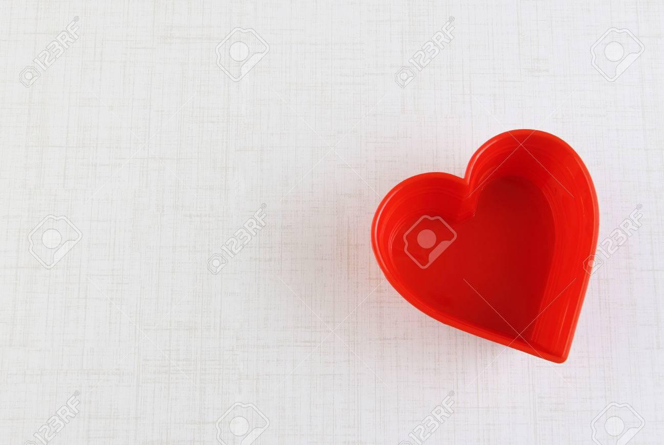 Herzform Grußkarte Vorlage Für Valentine Lizenzfreie Fotos Bilder
