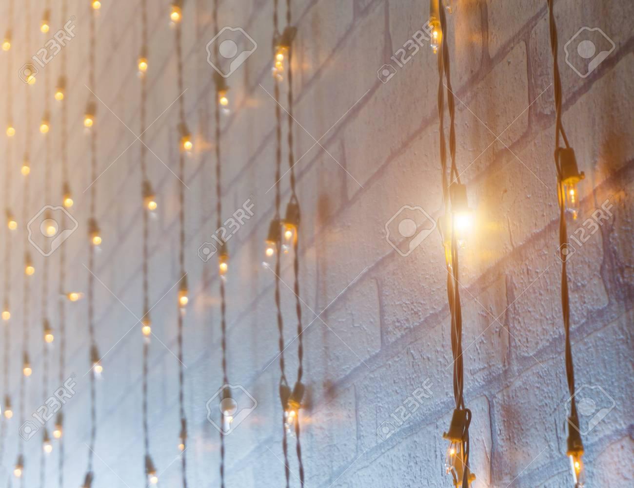 Lampadina blured lampada a incandescenza o globo a luce