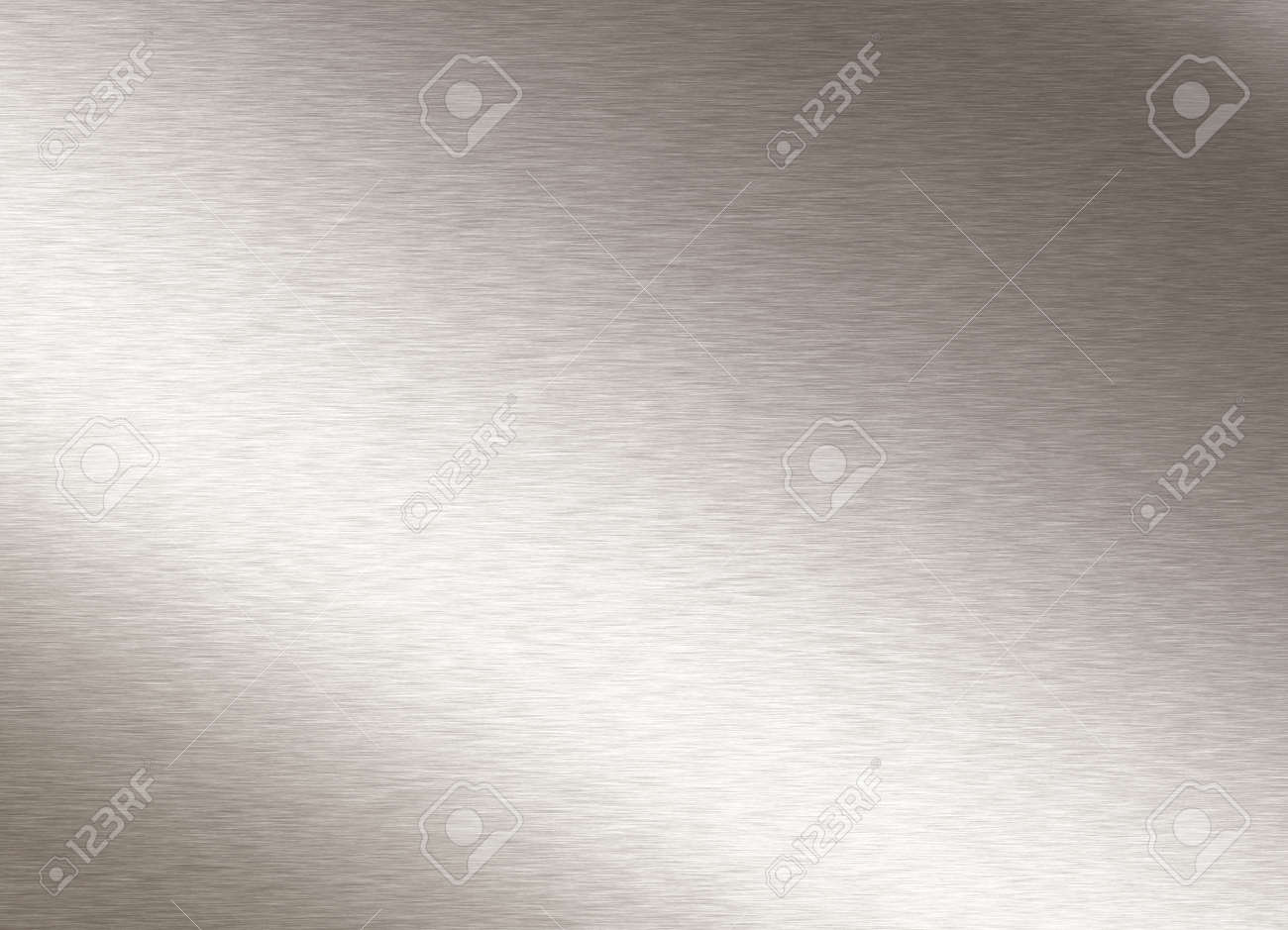 brushed steel plate Stock Photo - 2802666