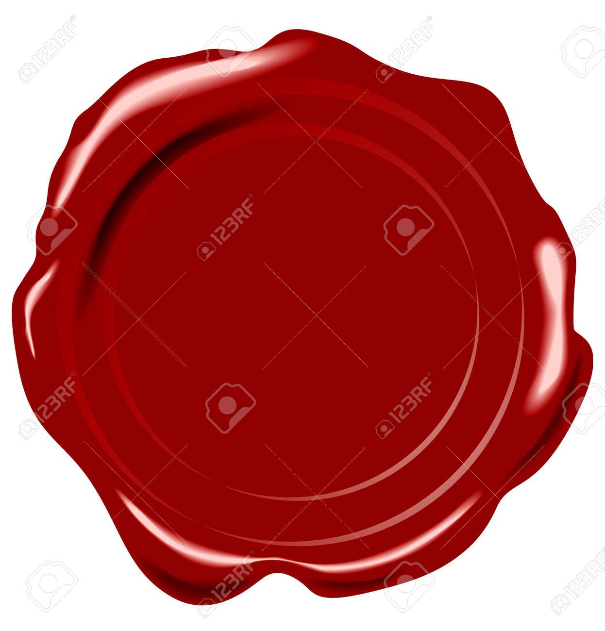 Vector wax seal - 3822306