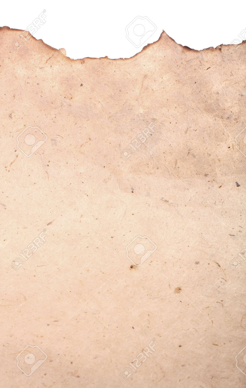 old paper crumple parchment paper texture background stock photo