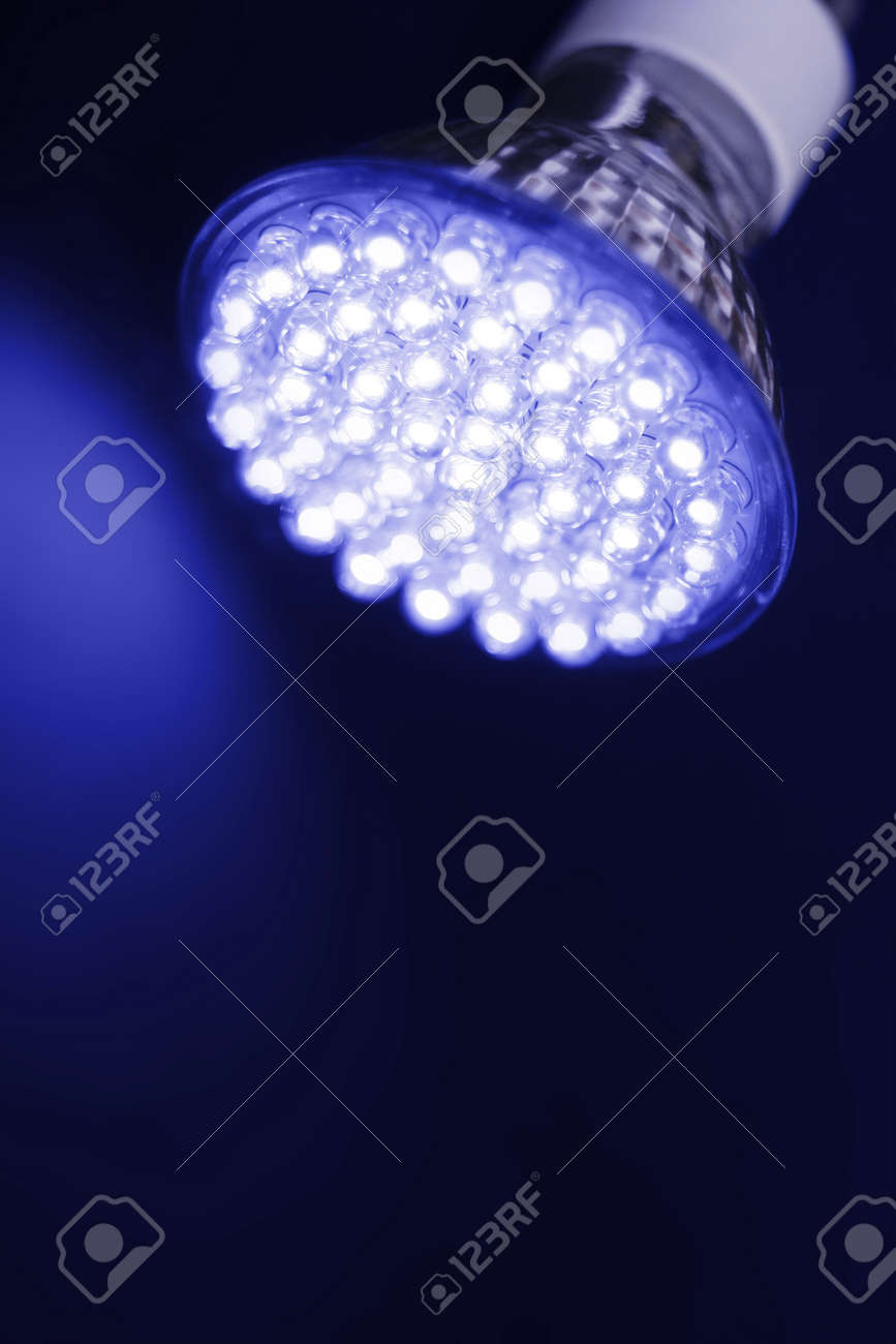 Newest LED light bulb technology is 90% more efficient than incandescent or halogen bulbs - 4264219