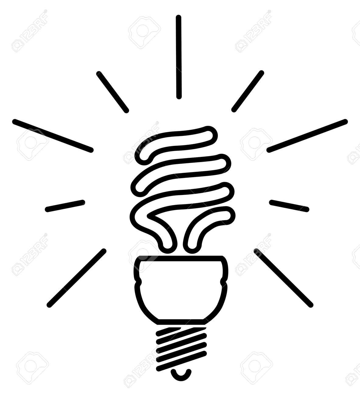 Как нарисовать лампочку карандашом
