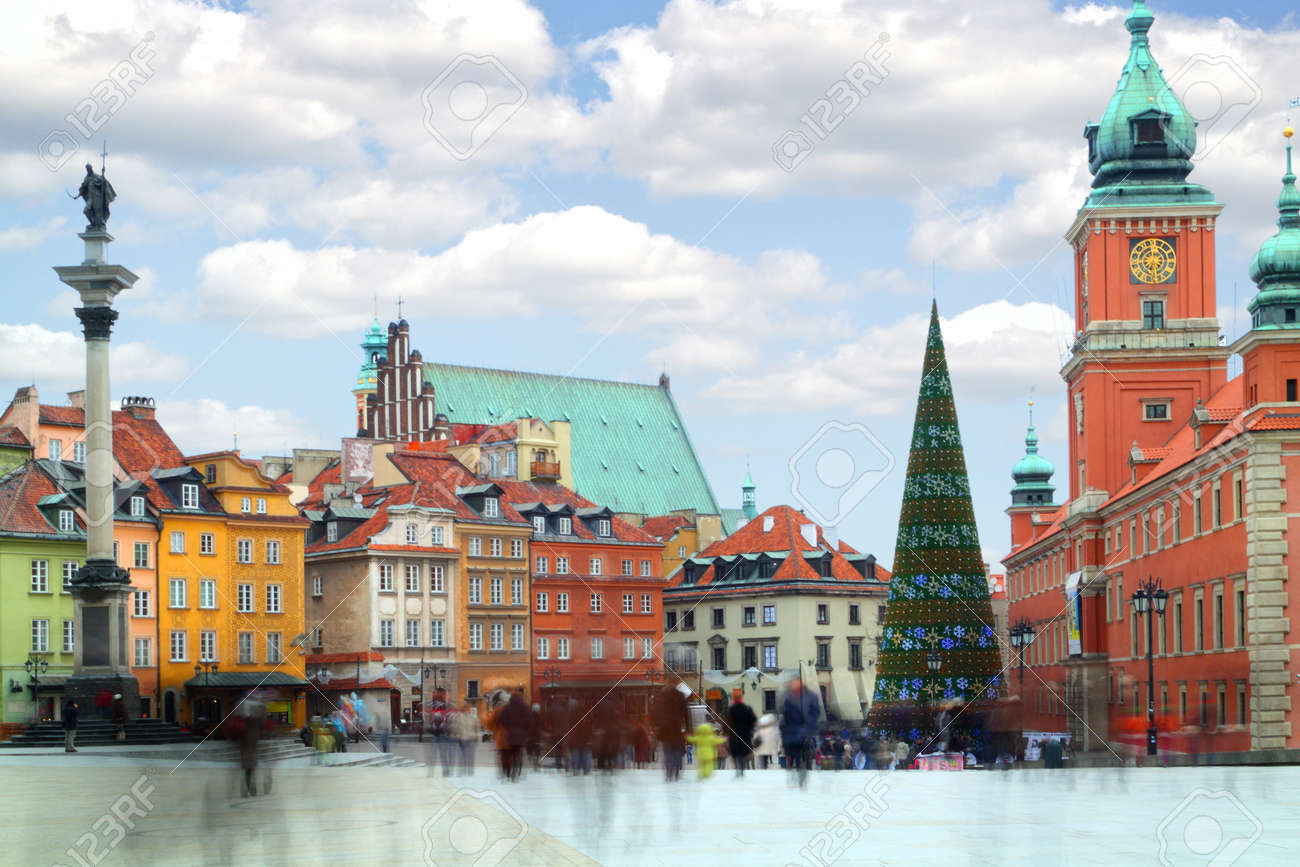 old town in warsaw the capital of poland stock photo picture