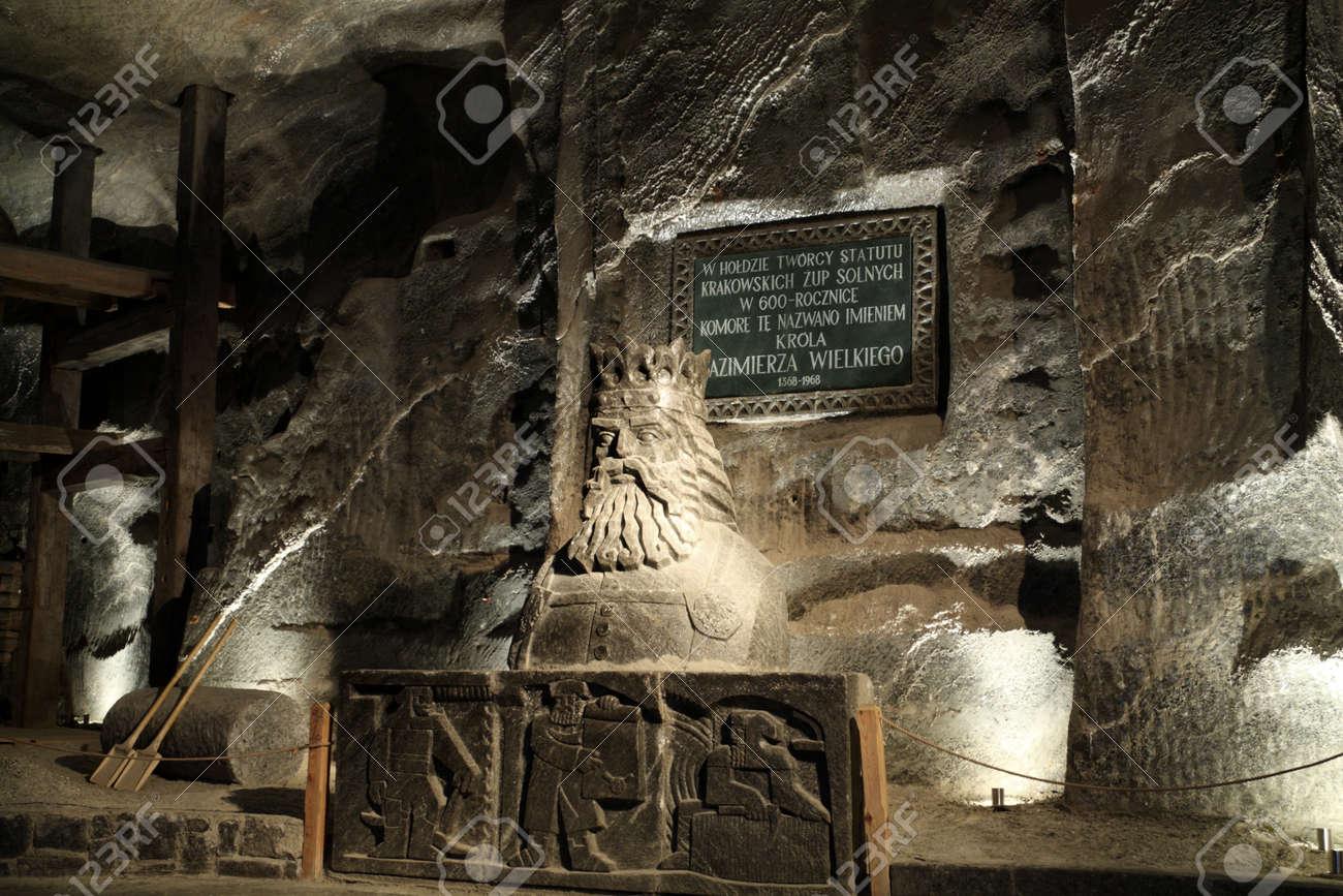 WIELICZKA, POLAND - Casimir III the Great (polish - 11917241