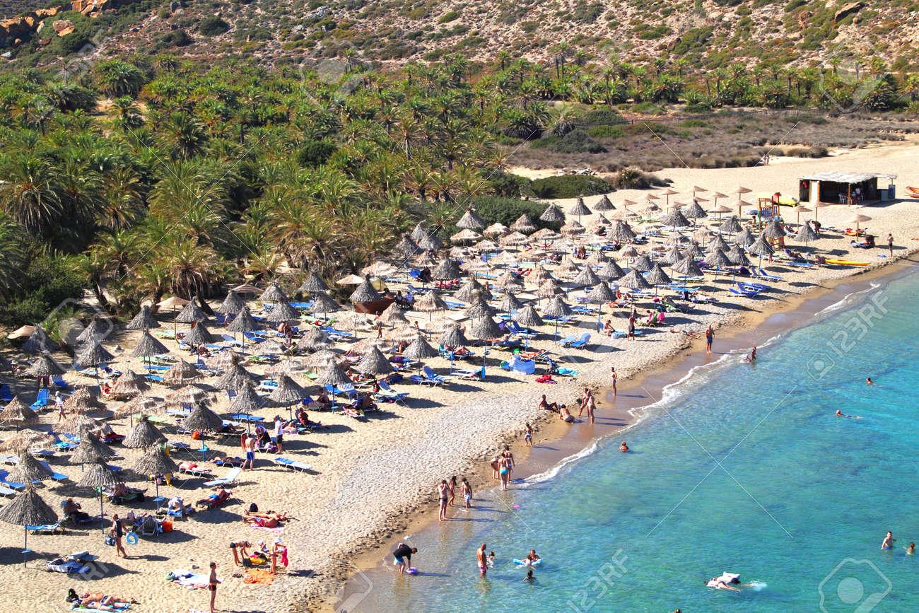 Vai beach at Crete island in Greece - 15839001