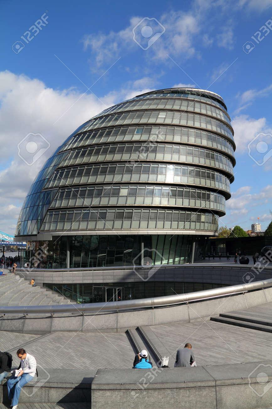 City Hall, Lord Mayors residence, London England - 16362786