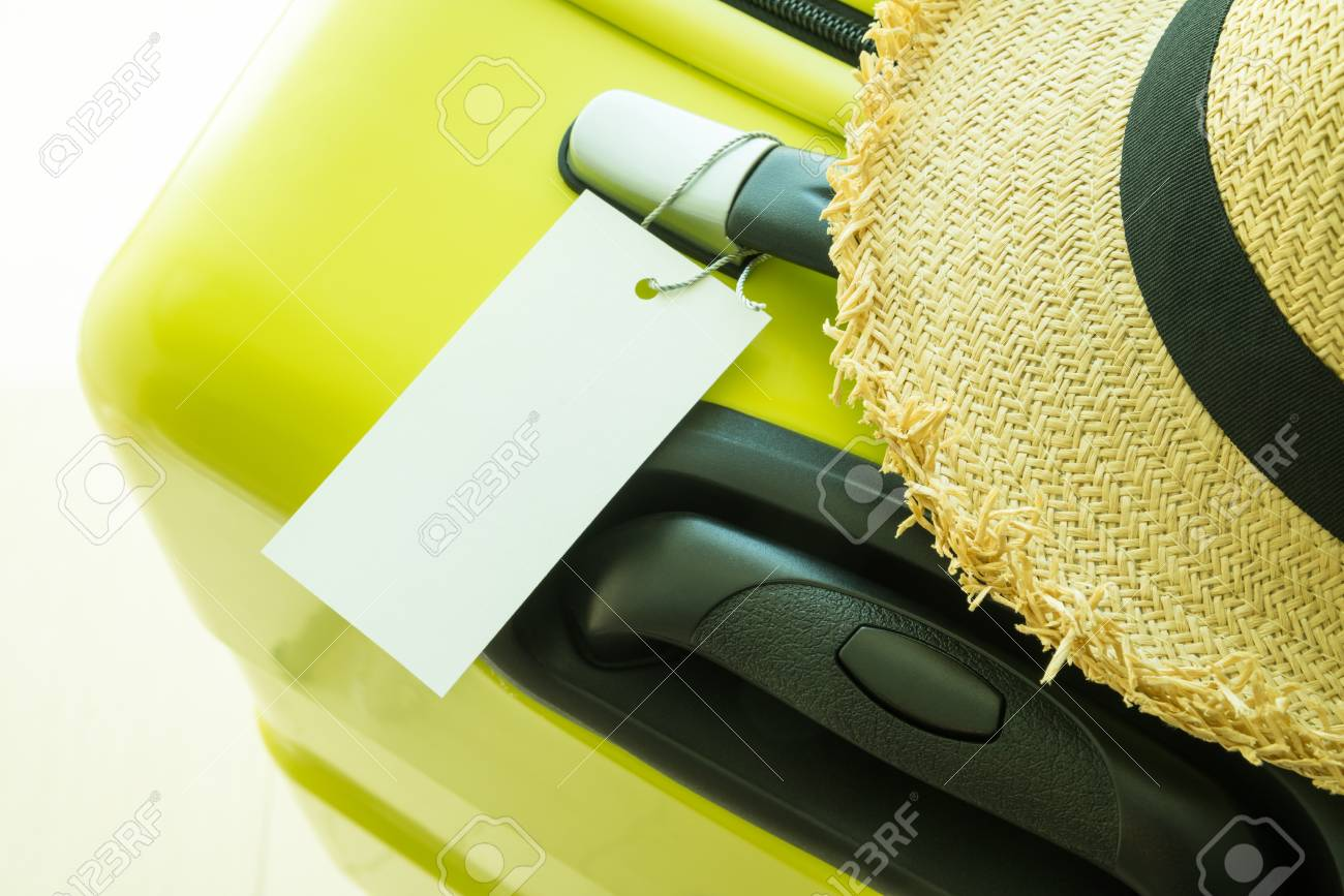 62a79633f03dd Blank Tag Label Luggage