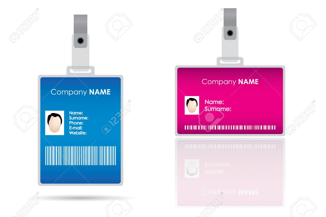 Name tag for id card Stock Vector - 9023250