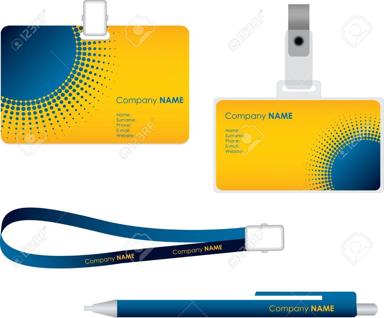 Name tag for id card - 9363397