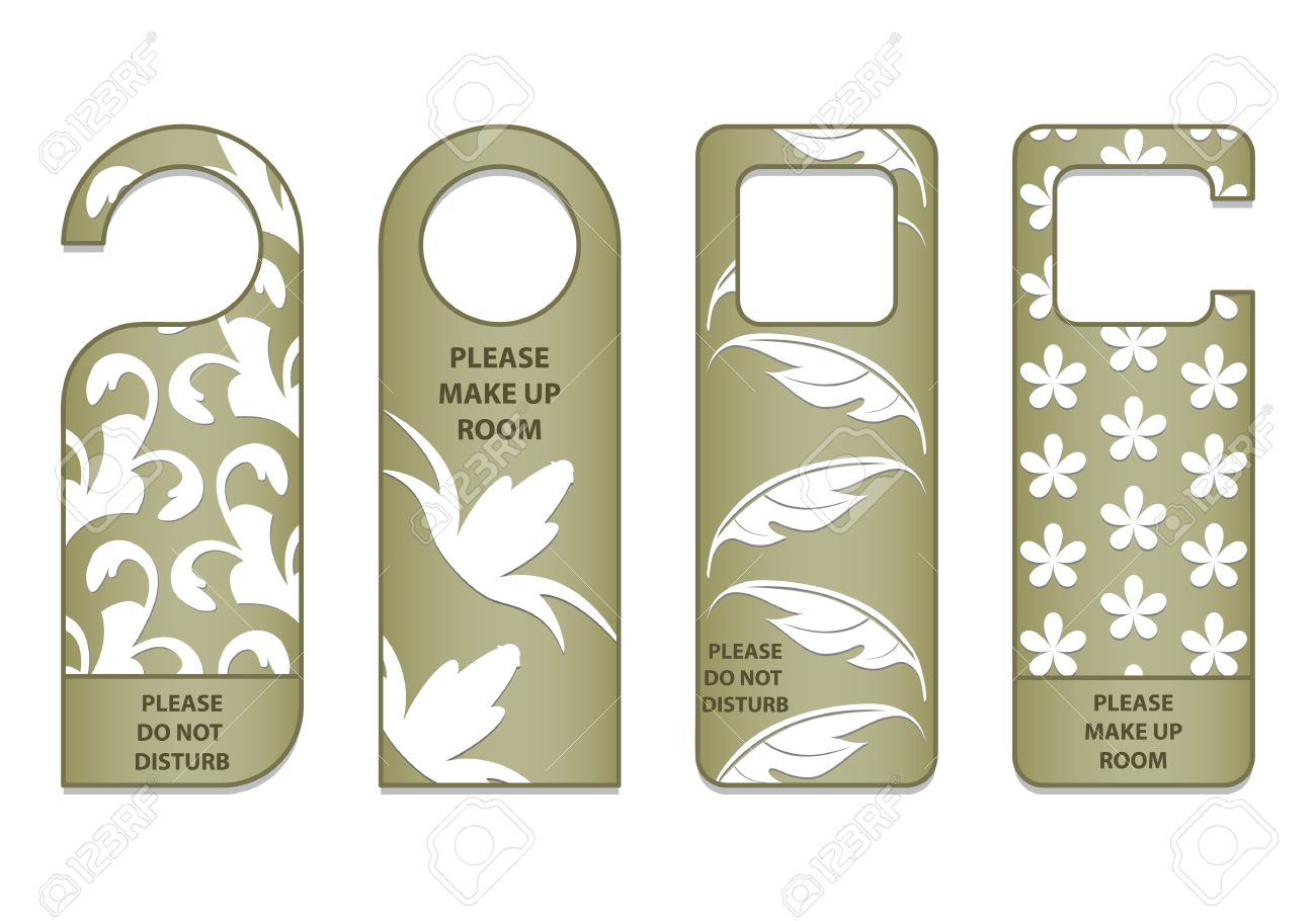 do not disturb sign with special design Stock Vector - 13623423