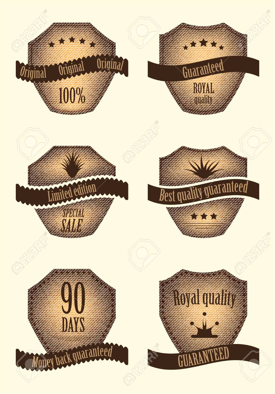 set of special labels with various design Stock Vector - 14174041