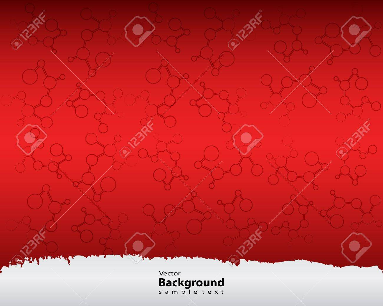abstract molecules medical background with special design Stock Vector - 17957754