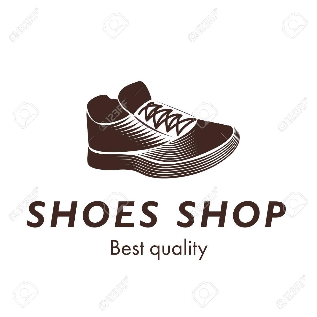 Sports Shoes Shop Best Quality Vector