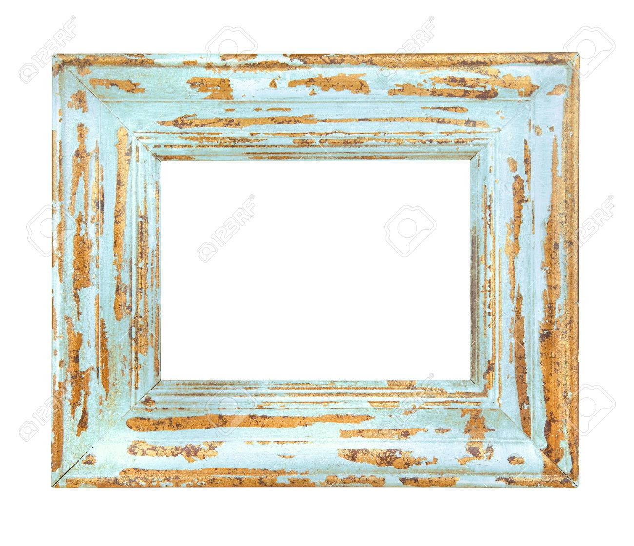 Vintage worn blue frame isolated on a white background stock photo vintage worn blue frame isolated on a white background stock photo 60651424 jeuxipadfo Gallery