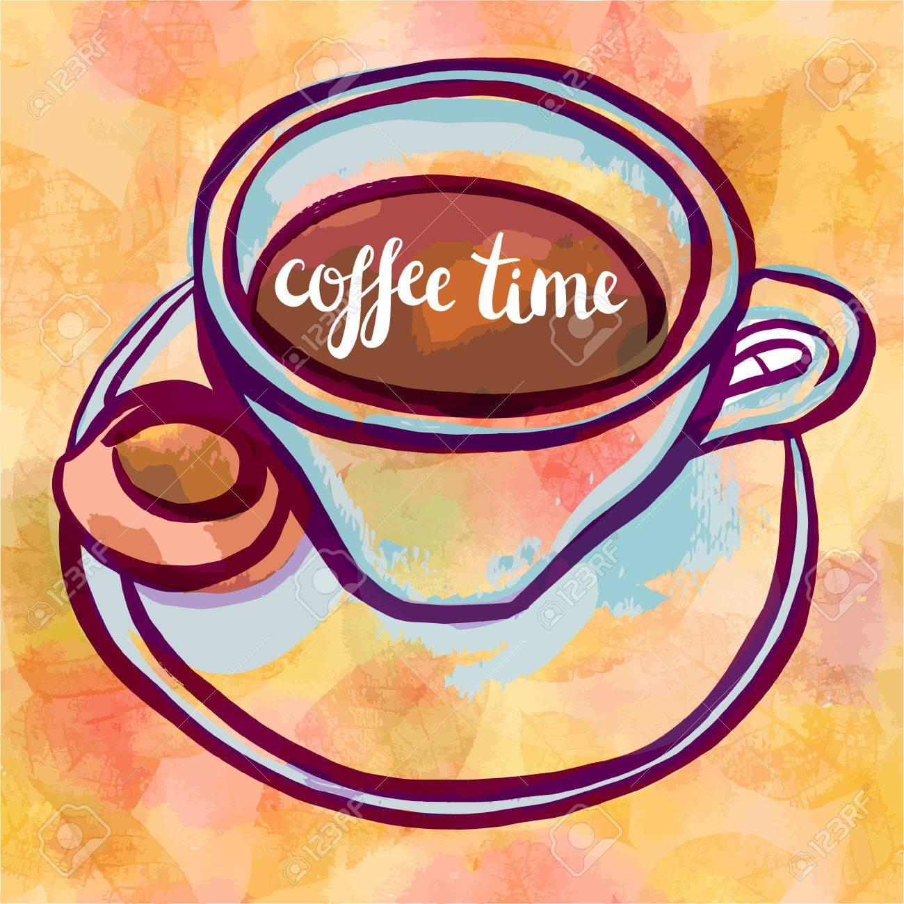 Resultado de imagen de tomado cafe dibujo