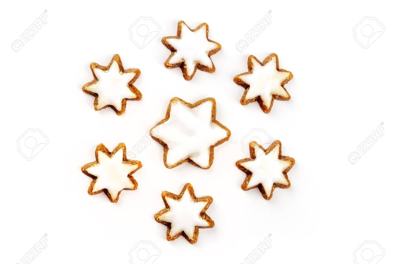 A Photo Of Zimsterne Traditional German Cinnamon Star Cookies