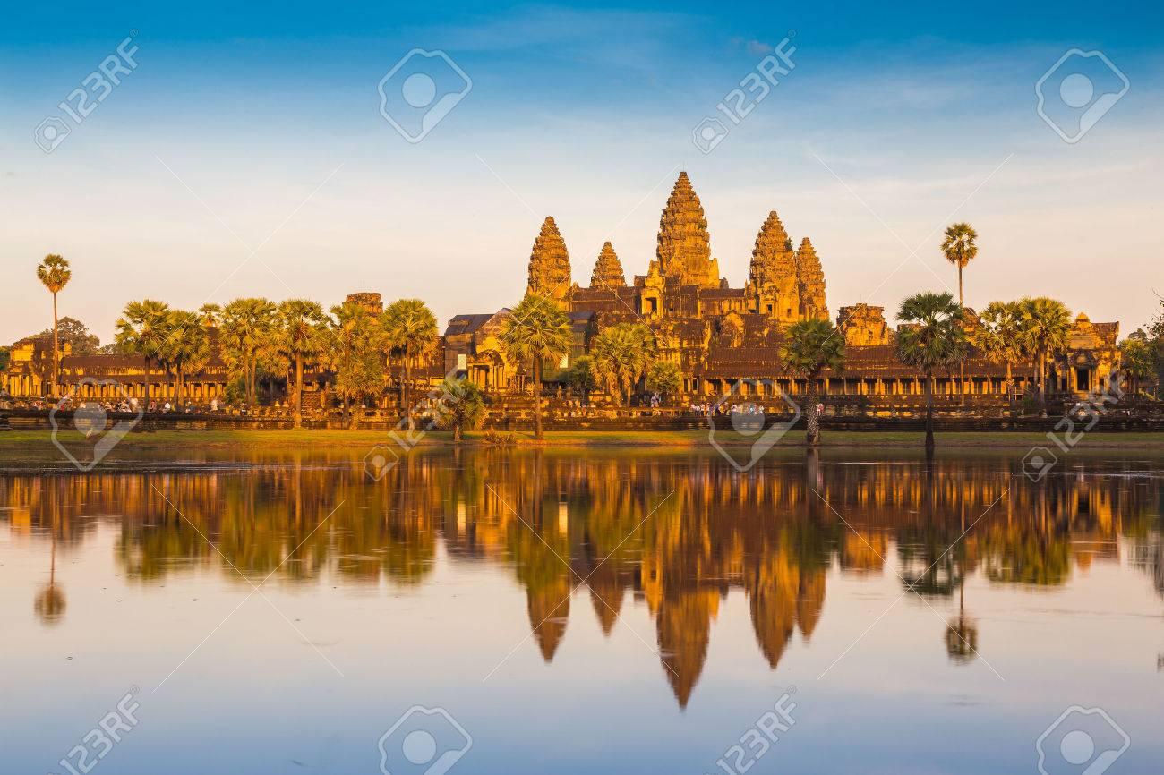 Angkor Wat Temple, Siem reap, Cambodia. - 24403516
