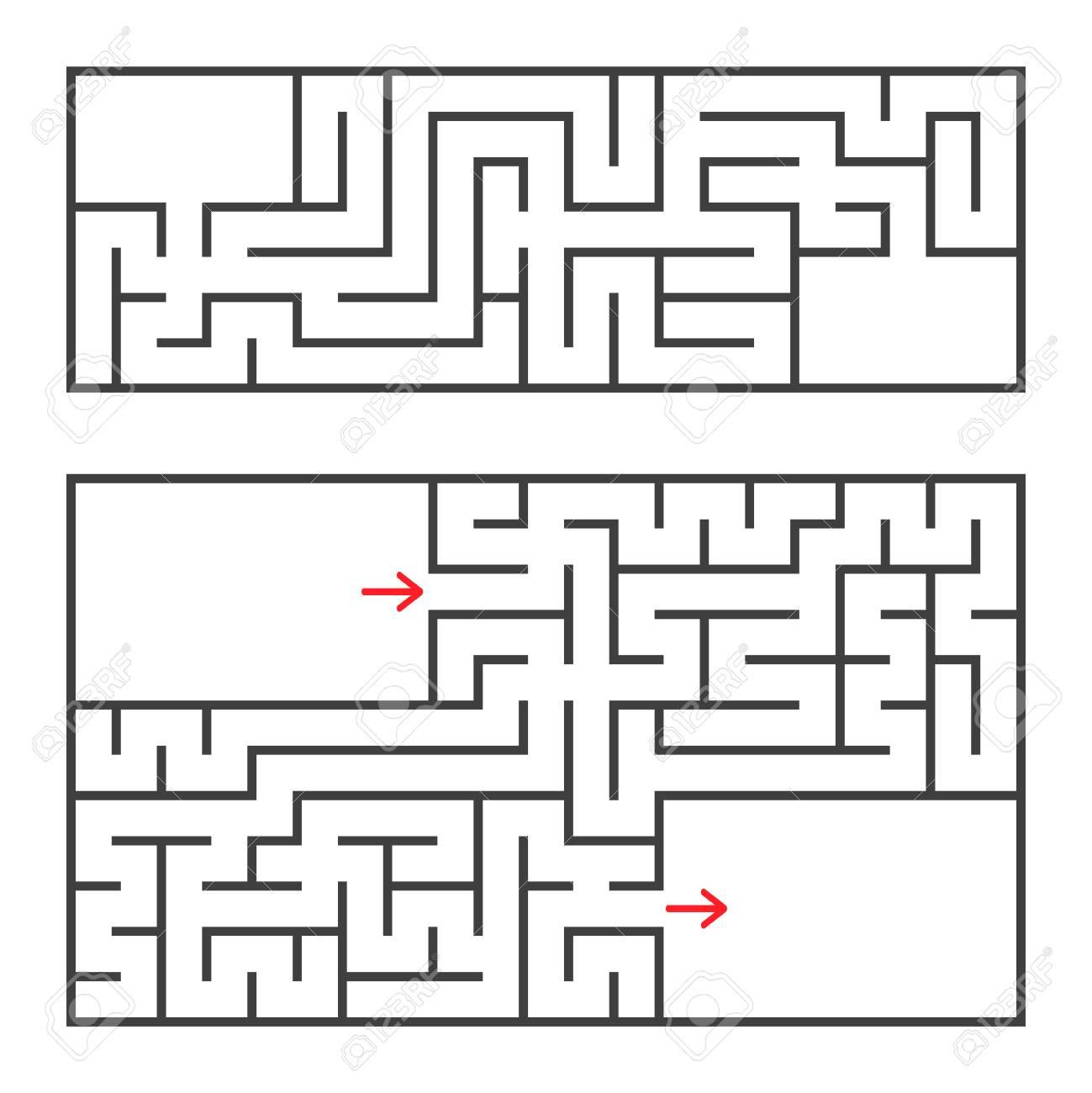 Rectangle Maze Diagrams - Circuit Connection Diagram •