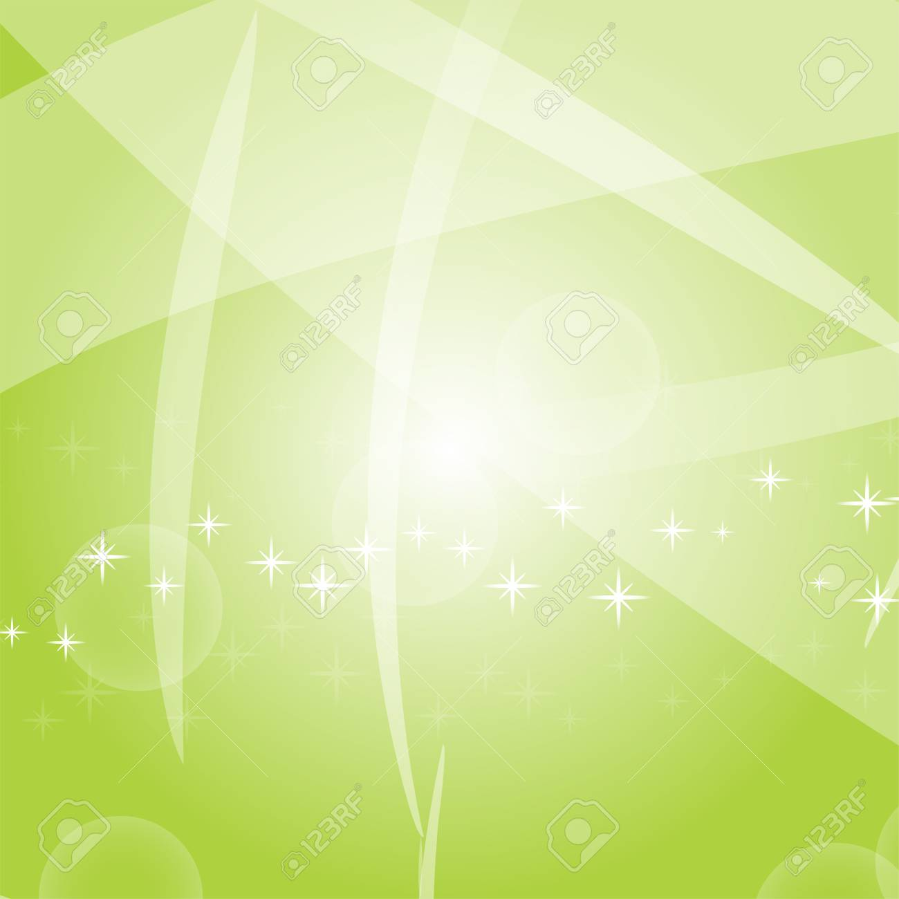 Light colored abstract background with circles, stars and lines. Suitable for festivals and packages. Vector illustration - 126725481