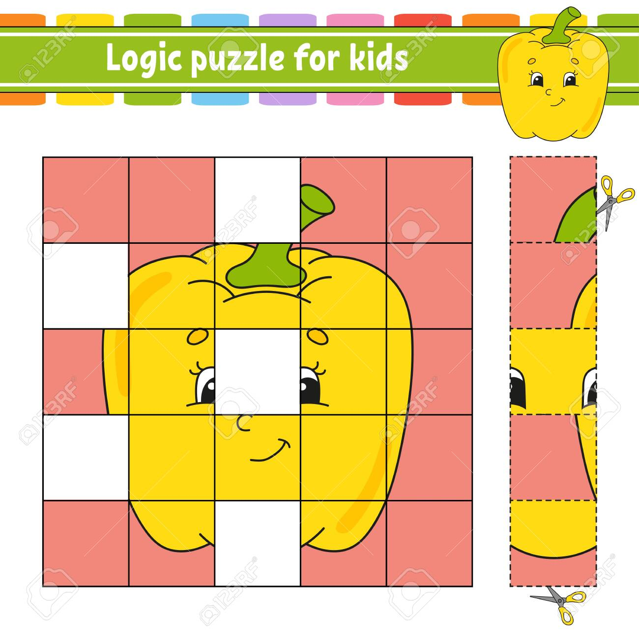 This is a photo of Logic Puzzles for Kids Printable pertaining to free printable