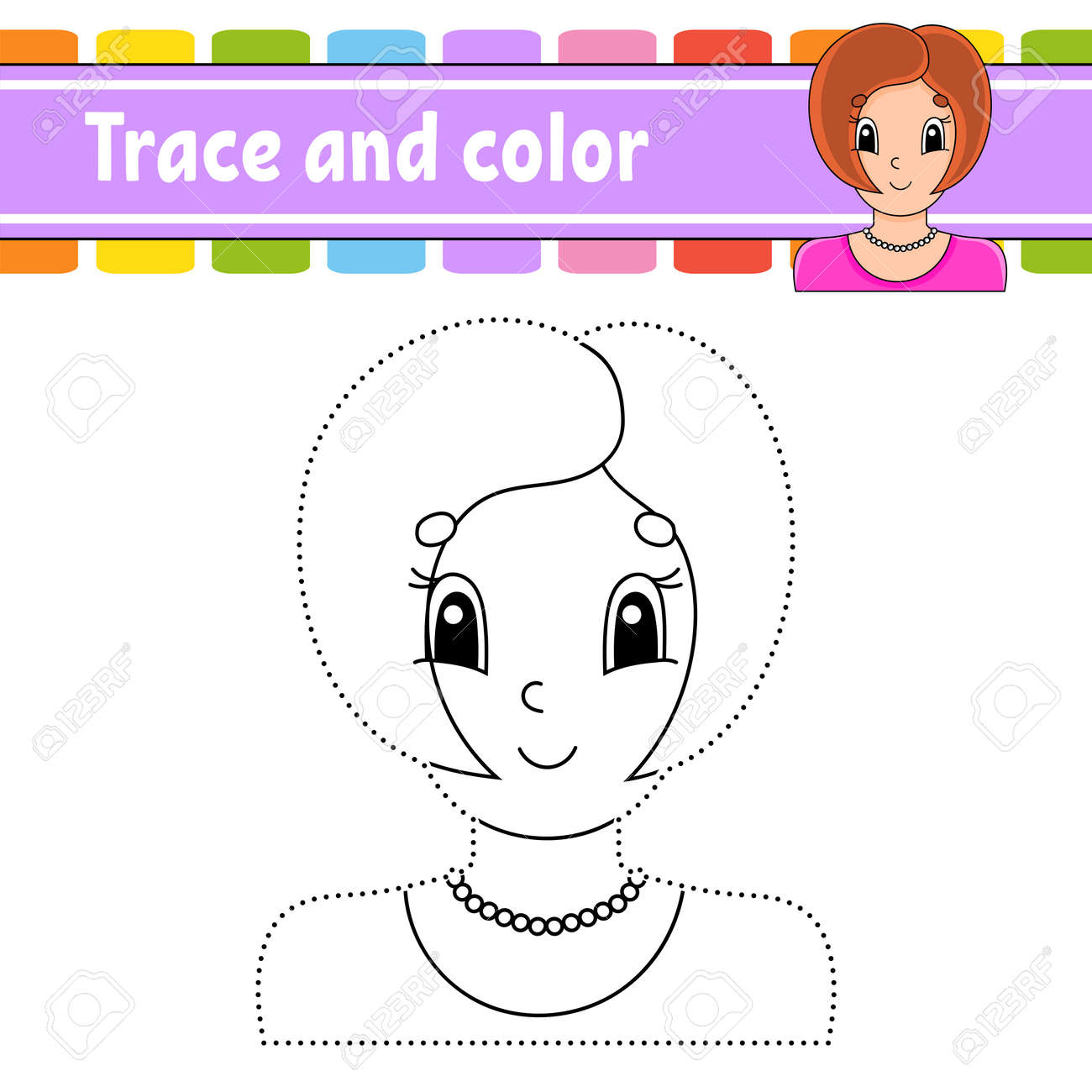 Dot to dot Dot to dot game. Draw a line. For kids. Activity worksheet. Coloring book. With answer. Cartoon character. Vector illustration. - 169599917