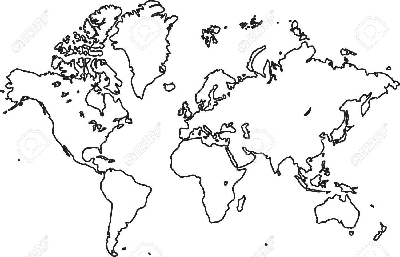 World map vector royalty free cliparts vectors and stock vector world map vector gumiabroncs Choice Image