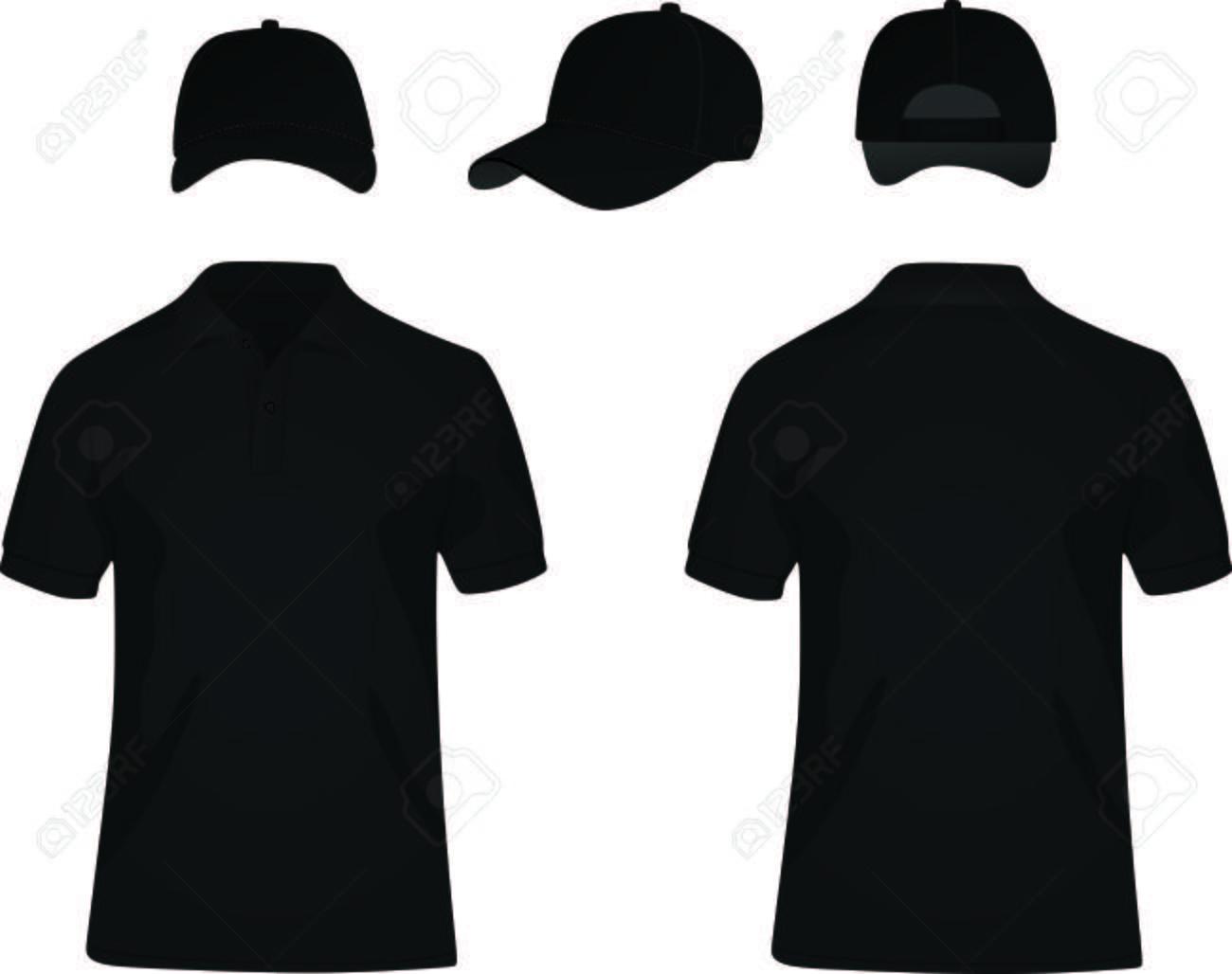 ff528615fa11 Camisa negra y gorra de béisbol