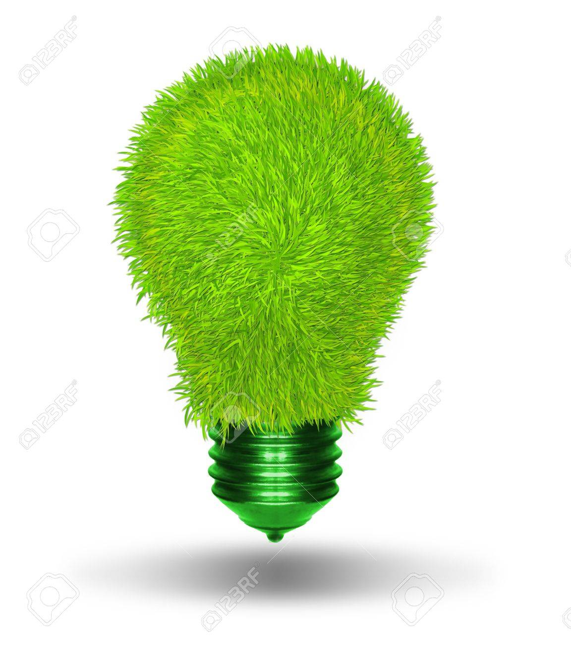 green energy and nature protection concept Stock Photo - 13402962
