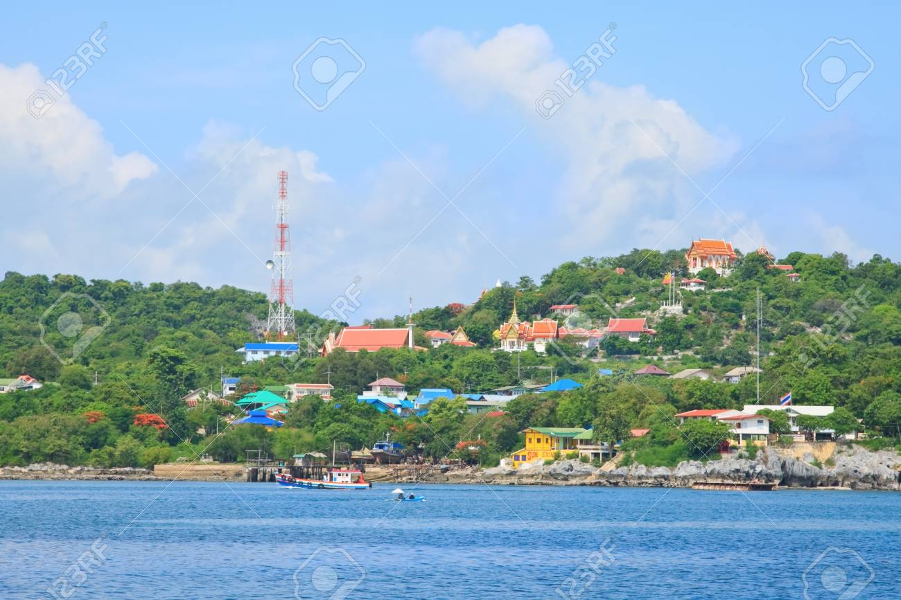 seascape of Koh Sichang, Chonburi province, Thailand Stock Photo - 15884711