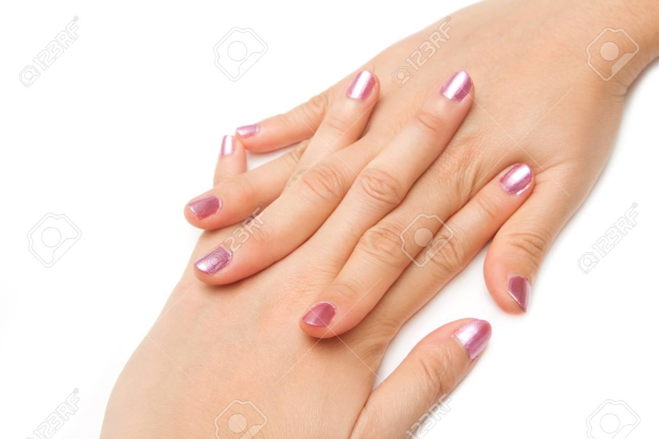 Eitelkeit Schöne Nägel Bilder Dekoration Von Maniküre - Schöne Nägel Manikürt Frau Mit