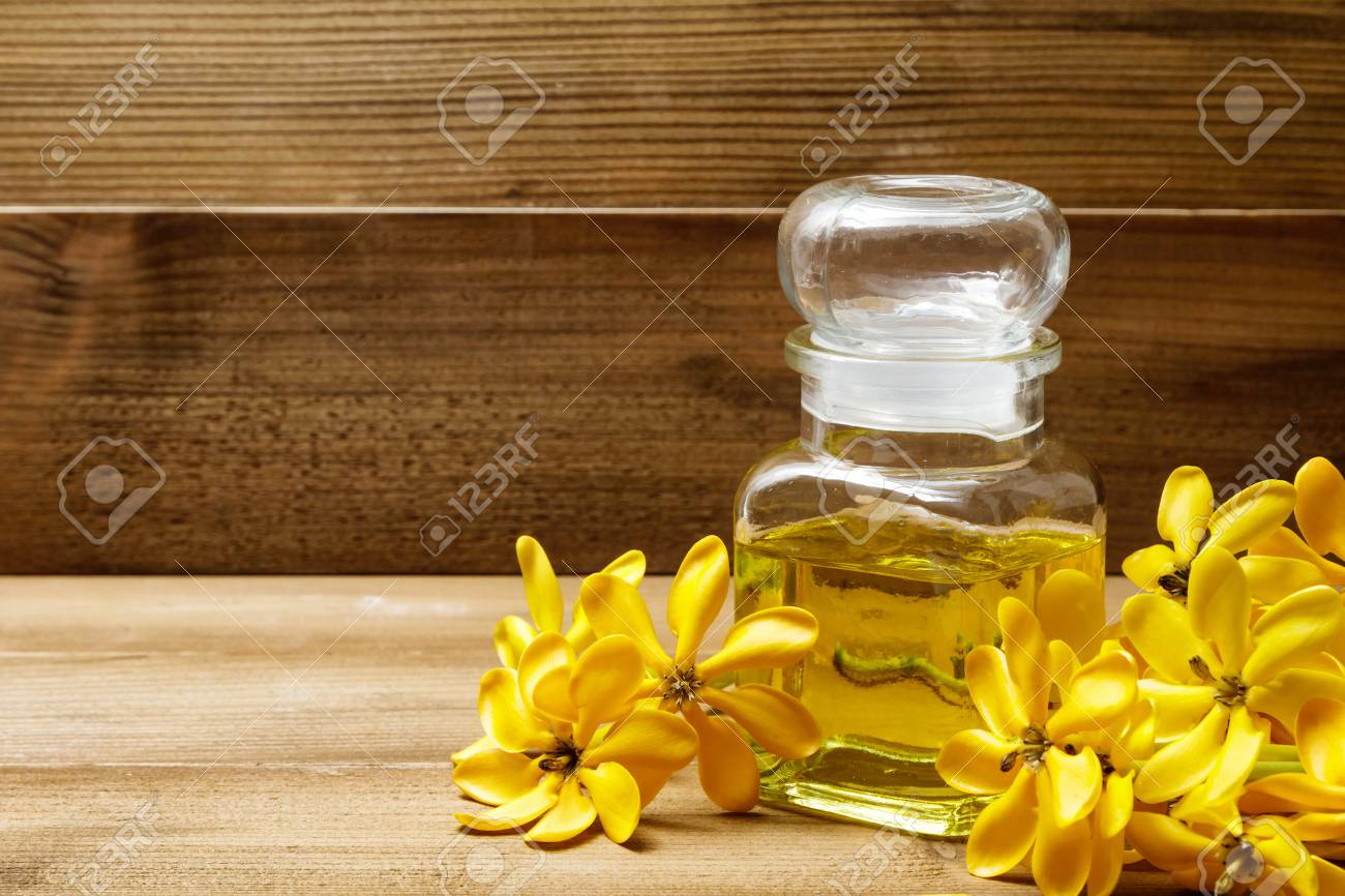 Essential oil with yellow gardenia flowers for aroma massage stock essential oil with yellow gardenia flowers for aroma massage stock photo 74006523 mightylinksfo