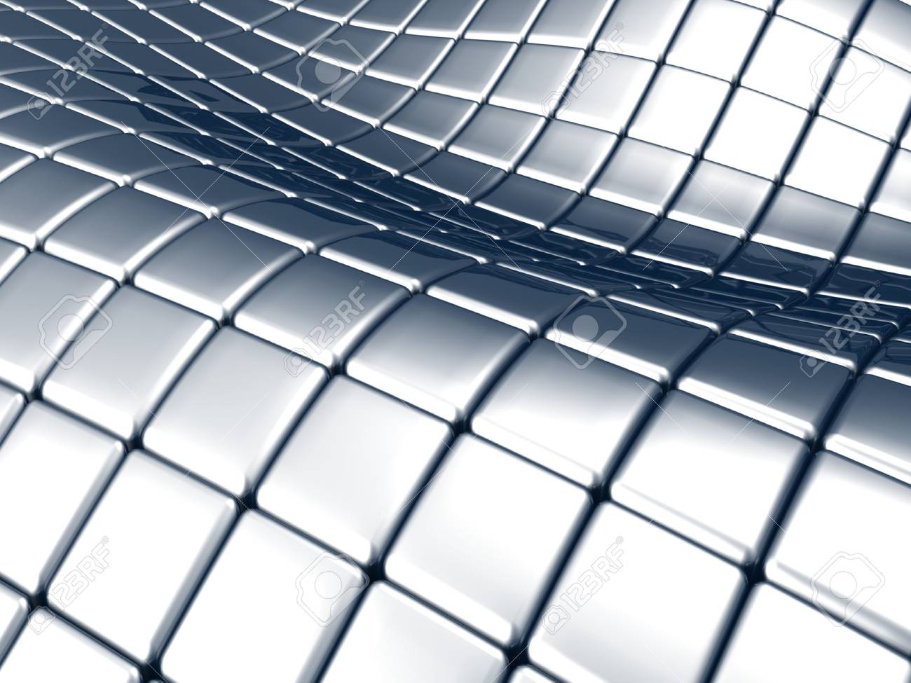 Abstract steel square background Stock Photo - 5060054