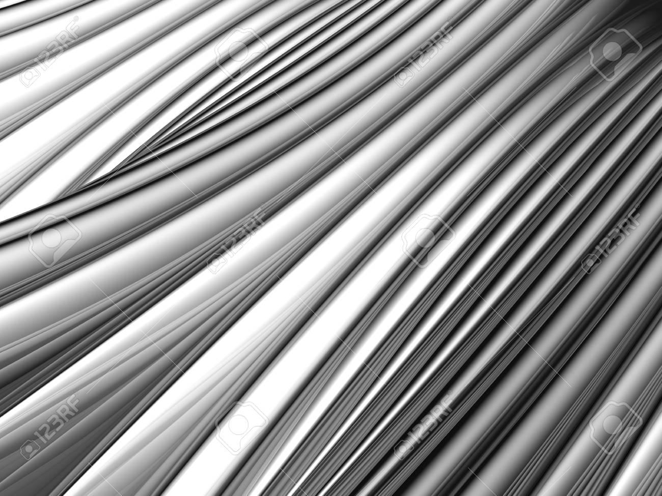 Abstract silver aluminium stripe background 3d illustration Stock Photo - 9501638