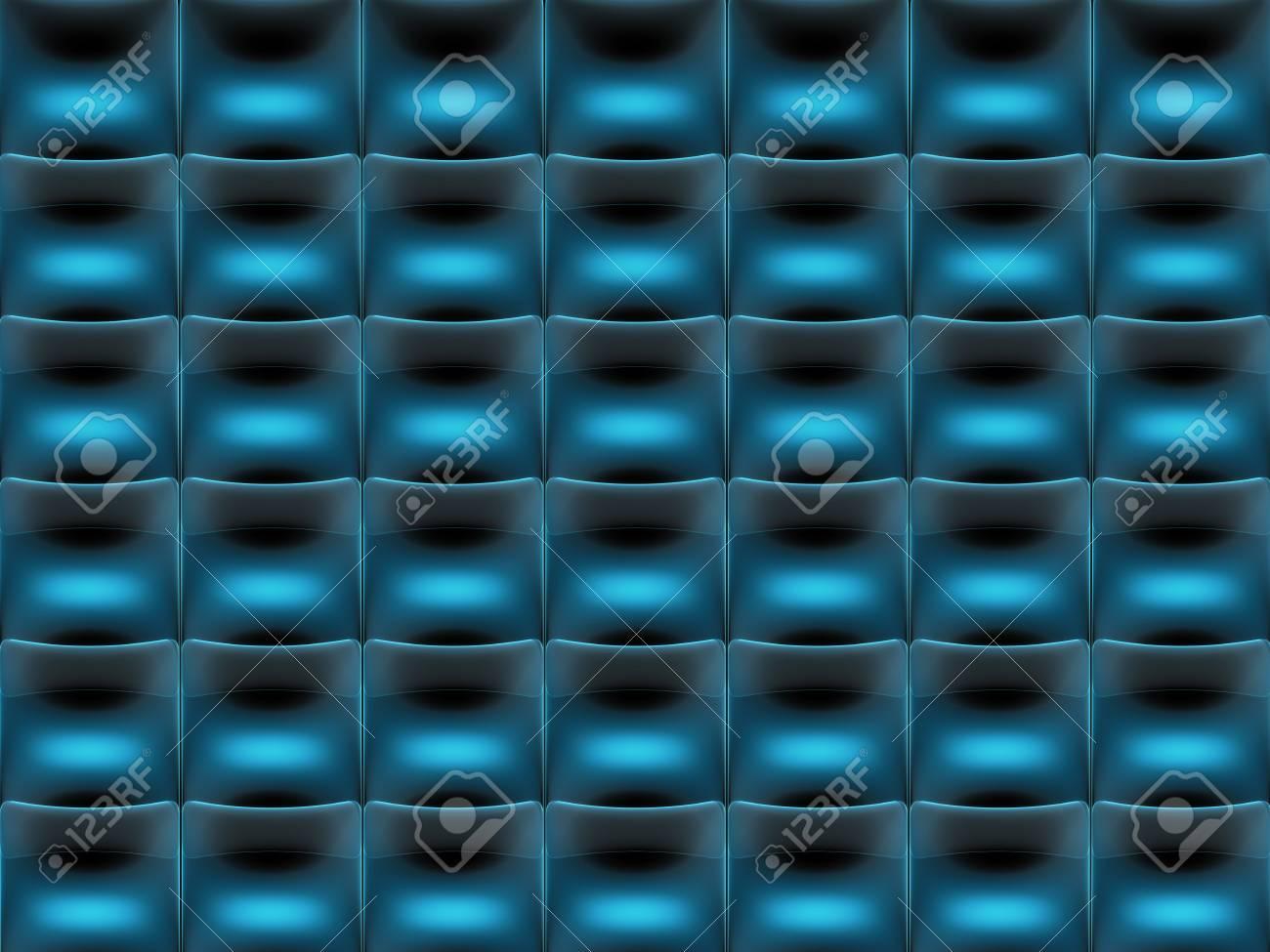 Blue color square tile pattern background transparent Stock Photo - 20227719