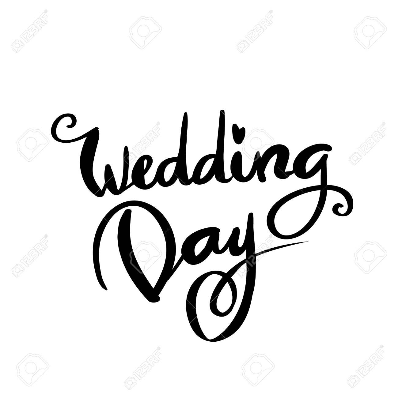 Wedding Day Clip Art