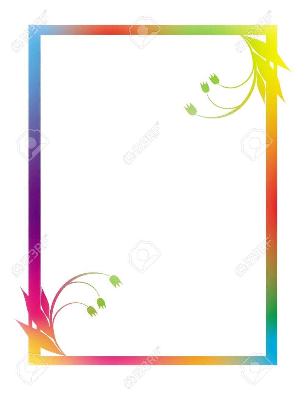 Hermosa Marco De Imagen De Color Amarillo Imagen - Ideas ...