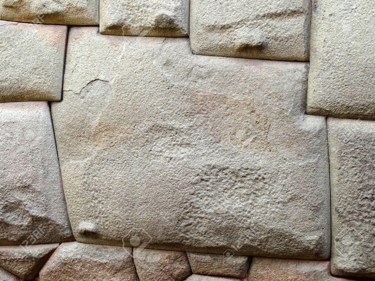 Immagini Stock - Primo Piano Del Famoso 12 Pietra Angolare Nel Muro Inca  Rumiyoc Strada Di Cuzco, In Perù. Image 11083903.
