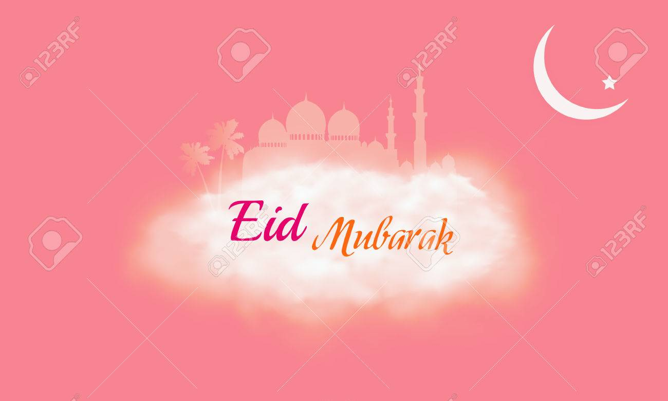 eid mubarak islamic greeting banner design background translation stock photo picture and royalty free image image 80152125 eid mubarak islamic greeting banner design background translation