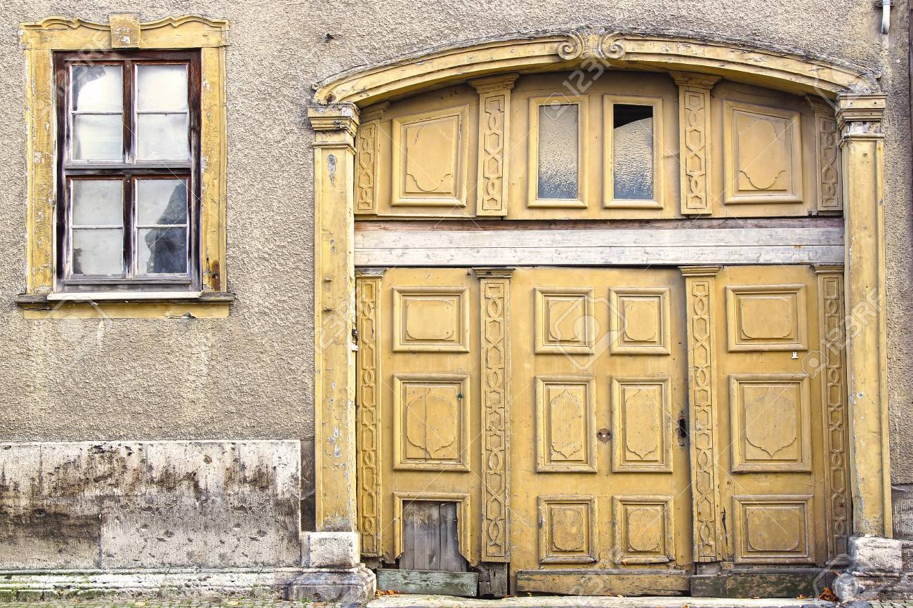 Fragment of a old house  Germany Stock Photo - 18978396