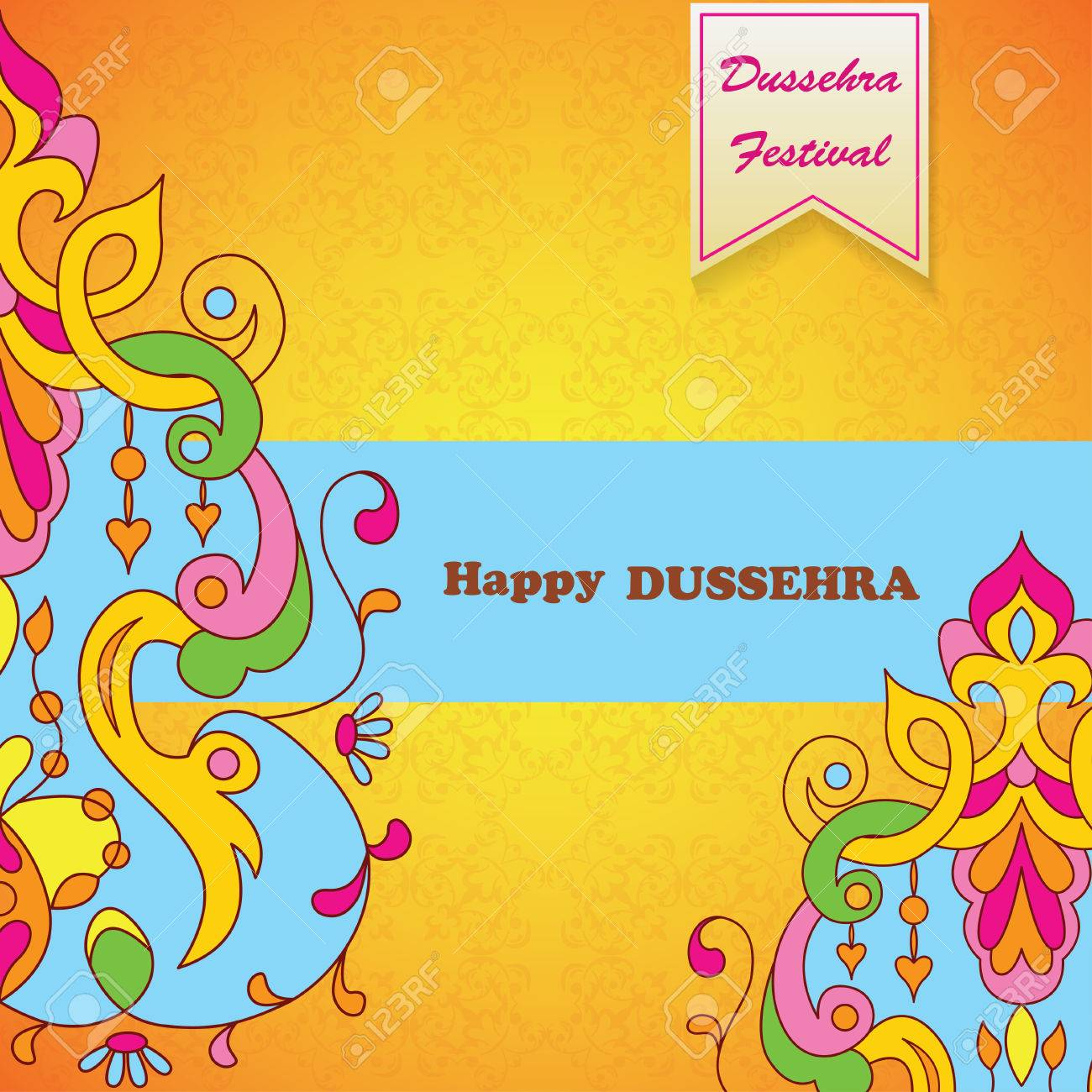 Dussehra festival backgroundeeting card for dussehra celebration dussehra festival backgroundeeting card for dussehra celebration in india stock vector 63810256 m4hsunfo